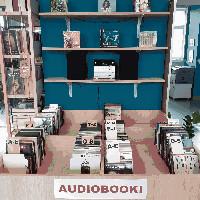 Audiobooki w Wypożyczalni